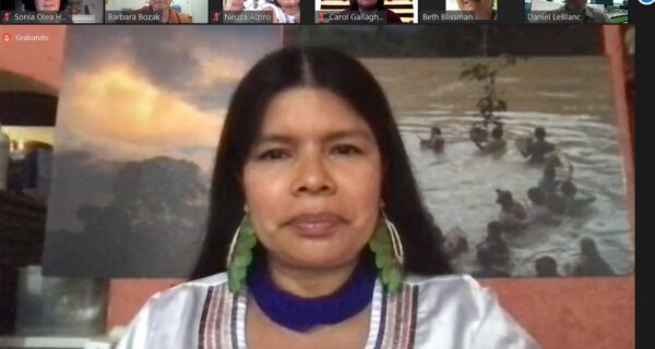 Mujeres indígenas ONU Patricia Gualinga