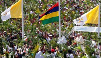 Papa Maurício nas Ilhas Mauricio 2019